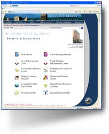 BluePrince Citizen Access enables a community to access municipal information quickly and easily